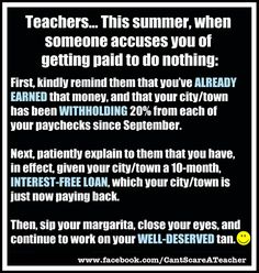 I've already earned my summer money