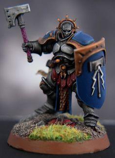Strormcast Eternal Liberator | par c_m_miniz - Warhammer Age of Sigmar