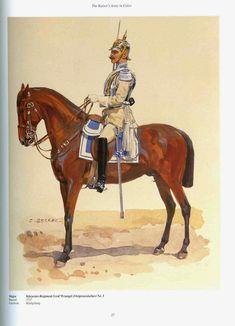 German; 3rd (East Prussian) Cuirassier Regiment Count Wrangel. Major. Raised 1717. Home Depot Königsberg. I Army Corps