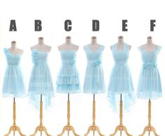 Tiffany blue bridesmaid dress blue bridesmaid dress by okbridal, $109.00