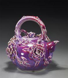 Very interesting Russian teapot.