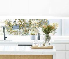 naominimmo_14-10-2016_15_1 Walk In Robe, Window Benches, Encaustic Tile, Kitchen Design, Kitchen Ideas, Open Plan Living, Living Spaces, Restoration, Backyard
