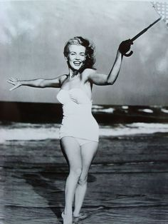 Early Vintage Photo of Marilyn Monroe Norma Jean on the Beach found on Ruby Lane