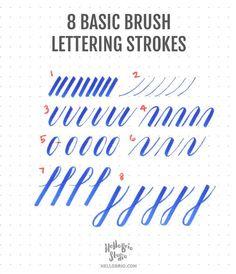 Resultado de imagen para brush lettering quotes