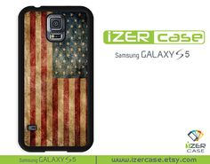 Samsung Galaxy S5 Case Galaxy S5 Cover American Flag by iZERCASE, $14.97