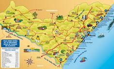 Mapa Alagoas