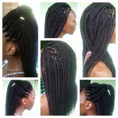 Gorgeous Rope Twists Shared By julietta charlery - Black Hair Information Community Twist Hairstyles, Headband Hairstyles, Mixed Hairstyles, Black Hairstyles, Hairdos, Pretty Hairstyles, Natural Hair Braids, Natural Hair Styles, Locks
