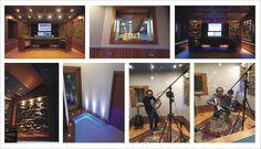 Recording studio, design by D&A