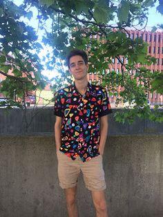 Ellen's Sewing Passion: Fancy Shirt :)