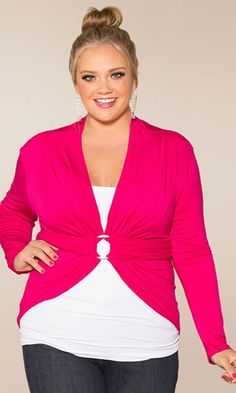 Plus Size Eternity Convertible Wrap Plus Size Womens Clothing at www.curvaliciousclothes.com  different color