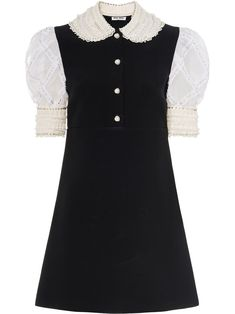 Kpop Outfits, Dress Outfits, Fashion Outfits, Classy Outfits, Cute Outfits, High Fashion, Luxury Fashion, Style Haute Couture, Peter Pan Collar Dress