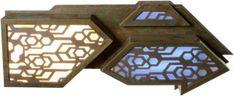 Someone selling light up panels from Stargate: Atlantis set. stargate.mgm.com