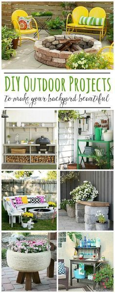 Awesome DIY outdoor projects!