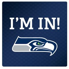 Im in!! Im so excited we get a WHOLE day to ourselves (without the little one) and even better that we get to spend it sitting in the rain at the seahawks game today!!!