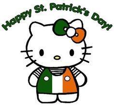 Irish Hello Kitty