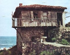 """Traditional houses in rural Romania (case traditionale romanesti) *** Upon arriving in her new home country in the young wife of Prince Carl of Romania noticed in her writings: """"Every R… Romania People, Rural House, European House, Home Landscaping, Good House, Black Sea, Traditional House, Homeland, Black House"""