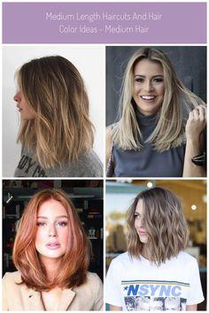 46 Gorgeous Balayage Hair Color Ideas – Page 19 – Mrs Space Blog #haircut medium