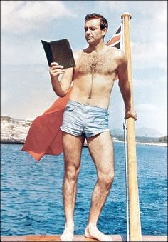 Just another day for Sean Connery.