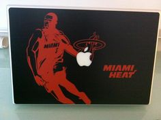 MIIIIIIIAMI HEAT!!!    D. Wade / Miami Heat Decal  MacDecals.com