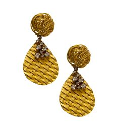 Beat The Rest Into Getting These High-End Yet Affordable Italian Look Earrings For Yourself. http://www.snapdeal.com/product/jahnvi-golden-drop-earrings/652113384792#bcrumbLabelId:341