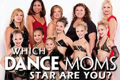 which dance moms star is most like you? leave a comment below please!
