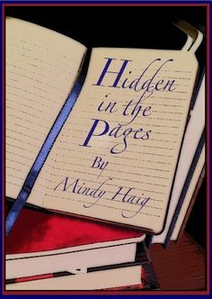 Hidden in the Pages by Mindy Haig, paranormal fiction romance just $2.99! http://www.amazon.com/dp/B00GSG5KS2/ref=cm_sw_r_pi_dp_eyY0sb1Y7VJCM