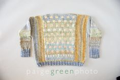 Limantour Sweater from hand spun Bo-Rage Yarns