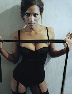 "QOTD: ""The man for me is the cherry on the pie. But I'm the pie and my pie is good by itself-even if I don't have a cherry."" Halle Berry  Google Image Result for http://images.fanpop.com/images/image_uploads/Esquire-Magazine-halle-berry-268858_920_1200.jpg"