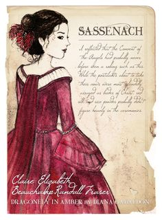 @TBursoni Lisa is a big Outlander fan, too. She did a pic of Claire.  Look at other work here: http://historywitch.com/