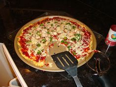 Wheat Belly Recipe: Wheat-free Pizza