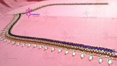 Aari Embroidery simple neck design...