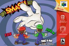 Super Smash Bros N64 Tribute Game Art HQ by Il-Piccolo-Torero.deviantart.com on @DeviantArt