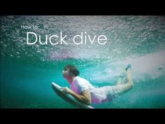How to duck dive on a bodyboard - SURFER today #DuckDive Bodyboarding #Howto
