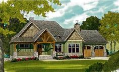 Cottage Craftsman French Country House Plan 97044 Elevation