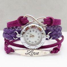 Hot Sale Multi-Layered Friendship Bracelet Watch For Women