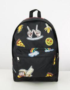 Pizza Tumblr Okul Sırt Çantası SM128SY Pizza, Tumblr, Backpacks, Fashion, Moda, La Mode, Women's Backpack, Fasion, Backpack