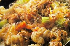 Sapasui is the Samoan version of the Chinese Chop Suey and is a very popular dish and staple. Asian Recipes, Healthy Recipes, Ethnic Recipes, Healthy Food, Oriental Recipes, Hawaiian Recipes, I Love Food, Good Food, Yummy Food