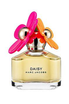 Daisy Sunshine Edition, de Marc Jacobs. Una versión más floral y frual de la original, con notas de mandarina, guava y pasas rojas, y un corazón de lirio del valle, lichi y violeta.