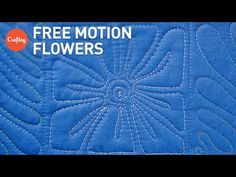 FMQ Flowers to Fill Any Space | Machine Quilting Motifs with Lori Kennedy - YouTube