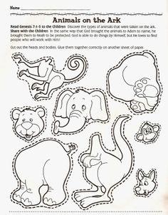 Dieren, ark van Noach / Animais