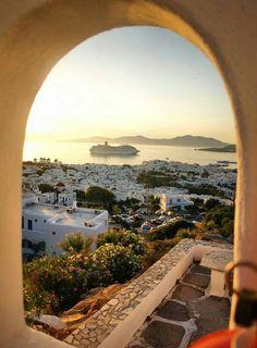 Mykonos and Delos - Cyclades Islands, Aegean Islands, Greece