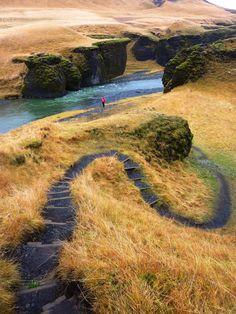 Nos carnets de route...: Islande #1 - 2014 - Gorges de Fjaðrárgljúfur