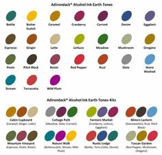 Image Result For Ranger Ink Three Pack Color Combinations