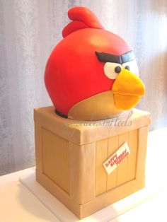 Page 4 « Gallery 2 Tier Cake, Tiered Cakes, Angry Birds Cake, 3d Cakes, Bird Sculpture, Cute Food, Let Them Eat Cake, Amazing Cakes, Toy Chest