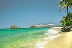 Lanikai Beach.  Many days of my childhood spent here.