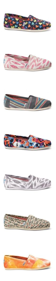 Wow, great Toms shoes you have there. Anyway, I��d like to share the most fashionable collections in this Toms Outlet!