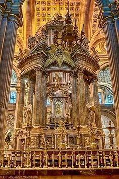 Catedral Puebla Foto:Cristina Menendez.