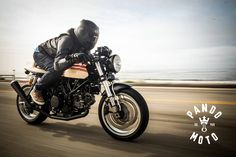 Riding Gear - PandoMoto Boss 105 jeans ~ Return of the Cafe Racers