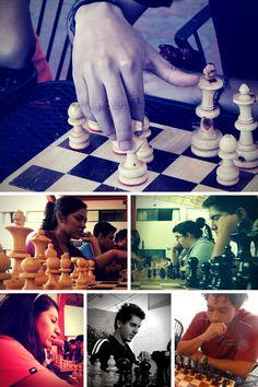 Esta tarde dio inicio el V Torneo interno de ajedrez de la Universidad Americana de Morelos.