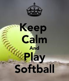 Keep Calm And Play Softball Wallpaper Images & Pictures - Becuo